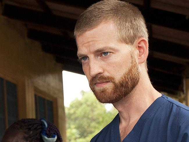 Victim ... Dr Kent Brantly contracted Ebola while working in Liberia.