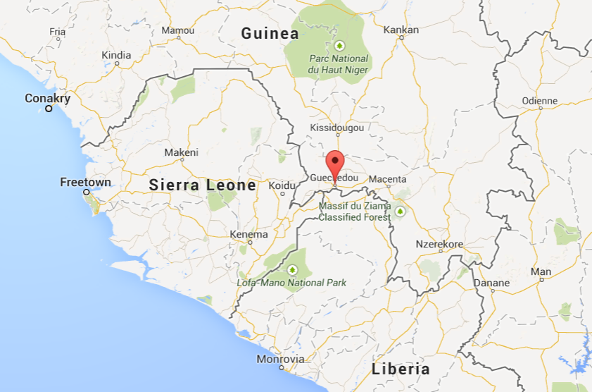 Experts say the outbreak started in a village in Guéckédou, in southeastern Guinea. The region's porous borders allowed the outbreak to quickly grow out of control.