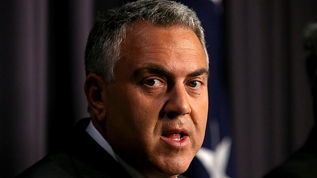 Treasurer Joe Hockey was unimpressed with the PM's decision to increase the GP fee.