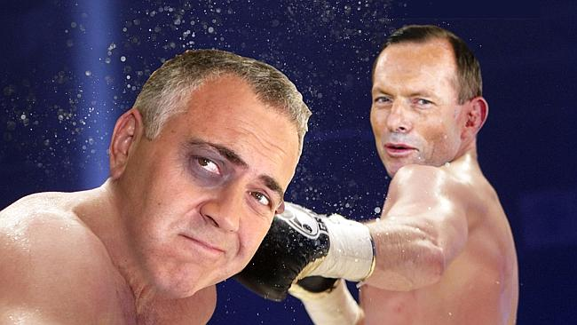 Tont Abbott and Joe Hockey went toe-to-toe over increased GP fee.