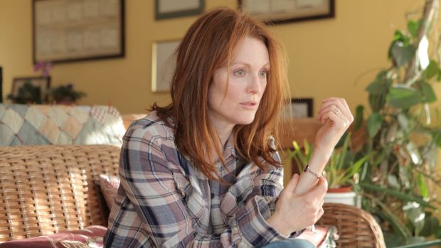 Sad reality: Julianne Moore stars in <i>Still Alice</i>, the story of one woman's battle with young onset Alzheimer's disease.