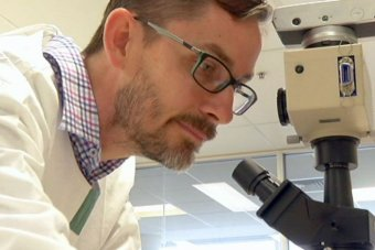 Researcher Mitchell Stark said the new biomarkers confirmed tumour progression in 100 per cent of cases.