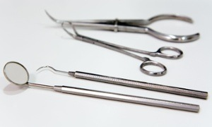 A dentist's instruments