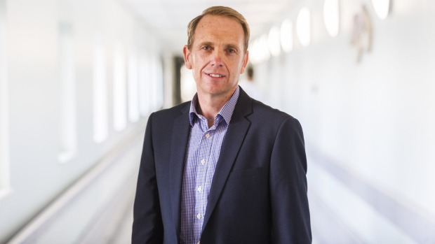 Health Minister Simon Corbell visited the new Tuggeranong service on Wednesday.