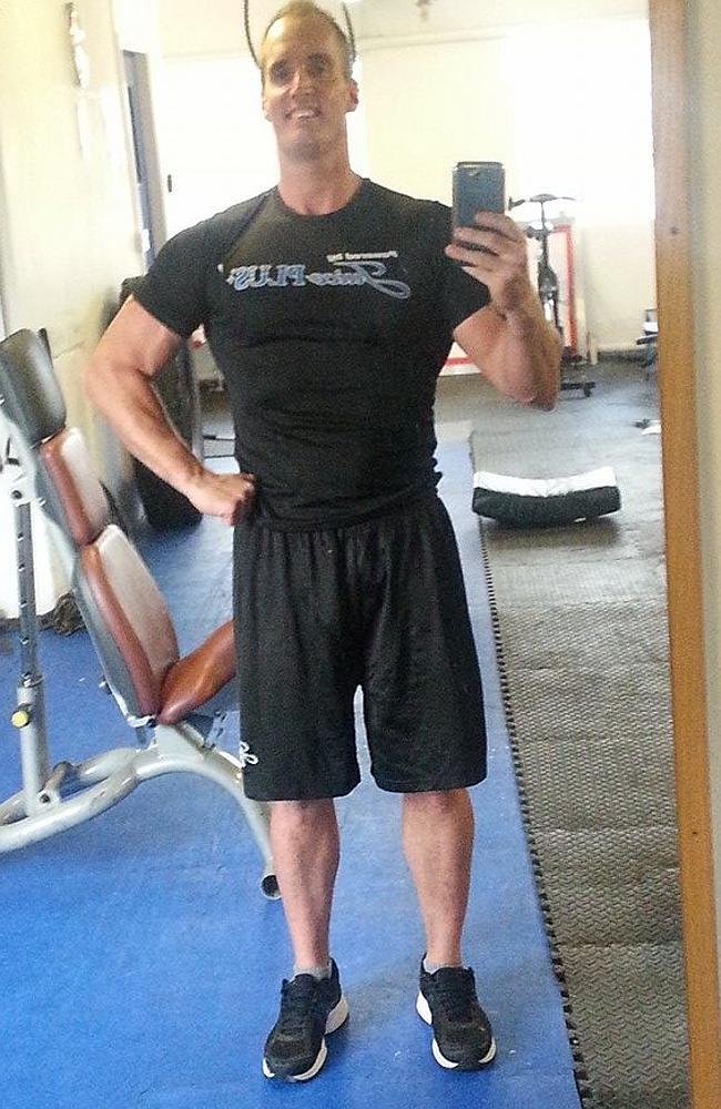 Tragic bodybuilder's deadly diet