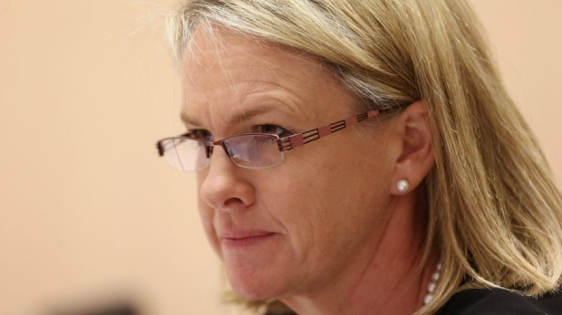 Federal Assistant Health Minister Fiona Nash expedited an announcement of a review to meet a television deadline.