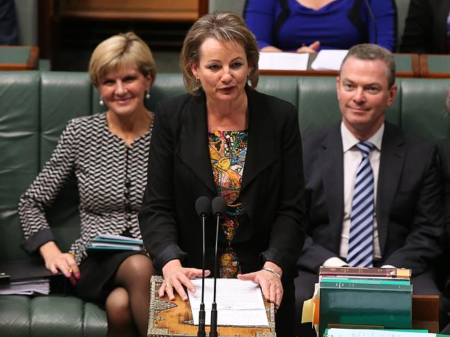 Government logic ... Health Minister Sussan Ley says the Budget measure aims to ensure mo