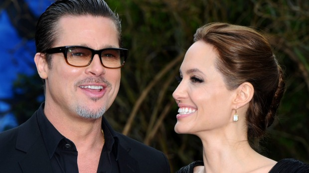 Closer and stronger: Brad Pitt and Angelina Jolie open up. Photo: Anthony Harvey