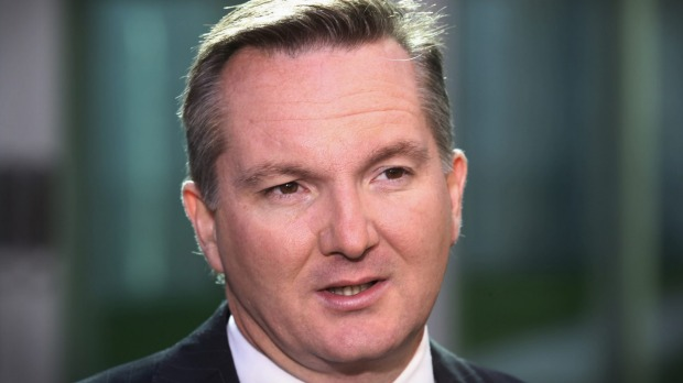Shadow treasurer Chris Bowen says the government is showing the same pattern of behaviour it did during the much-criticised 2014 budget. Photo: Andrew Meares