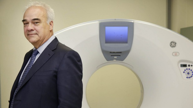 Primary Health Care, run by chief executive Peter Gregg, is one of the two big ASX-listed pathology companies in the sights of the federal government. Photo: Jessica Hromas