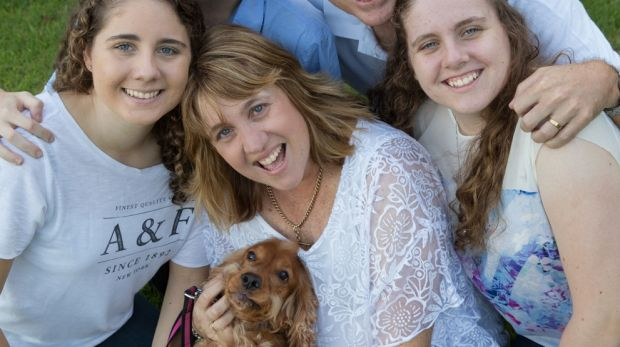 Tracey Trumper, of Cherrybrook, and her family. She faces a potential bill of $7000 per month to access treatment for ...