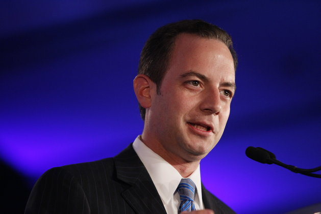 Patrick Semansky/ASSOCIATED PRESS Republican National Committee Chairman Reince Priebus speaks at the Republican Leadership Conference in New Orleans, June 18, 2011.