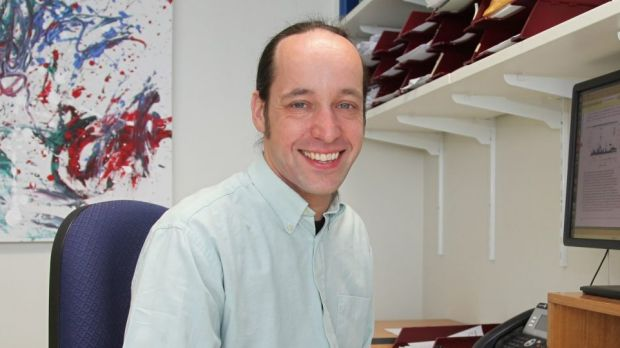 Associate Professor Stuart MacGregor, head of the Statistical Genetics Laboratory at QIMR Berghofer. Photo: Supplied